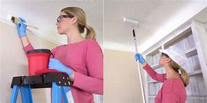 comment peindre un plafond pour renover son interieur 15 With comment peindre le plafond