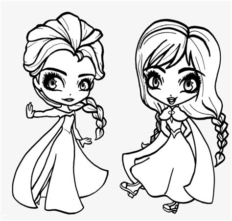 Frozen Kleurplaat Baby Elsa by Chibi And Elsa From Frozen Baby Elsa Coloring Pages