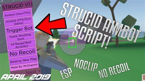 strucid aimbot script april  aimbot esp