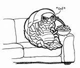 Isopod Dorito Designlooter sketch template