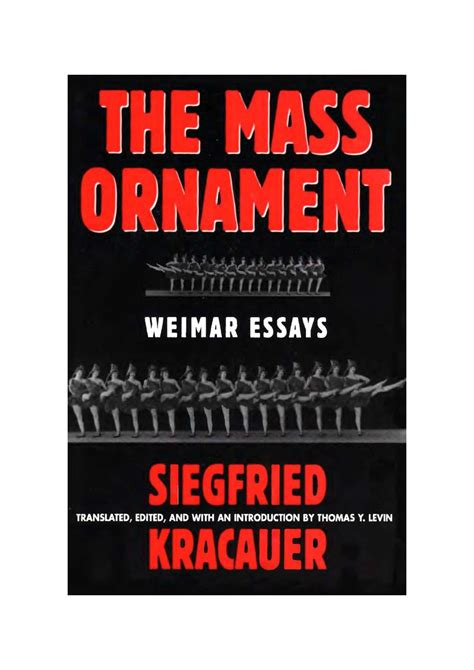 Sle Resume For Housekeeping In Hotel by Siegfried Kracauer The Mass Ornament 100 Images The