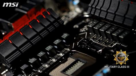 msi za gd gaming motherboard unveiled packed