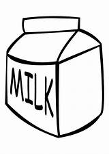 Coloring Milk Leche Colorear Dibujo Latte Melk Milch Malvorlage Colorare Kleurplaat Disegno Lait Dibujos Lacteos Schulbilder Pintar Coloriage Ausmalbild Printable sketch template