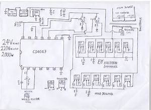 How To Build A 2kva Inverter Circuit Diagram   2000 Watt Inverter Circuit Diagram   24v 2kva