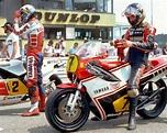 motorsportsarchives | Racing bikes, Yamaha racing, Bike racers