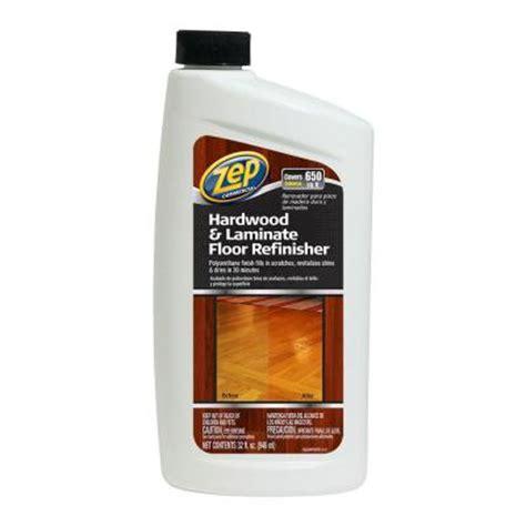zep  oz hardwood  laminate floor refinisher case