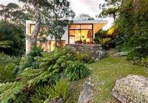 steep slope house plans castlecrag house modern exterior sydney by