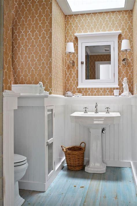 Wallpaper For Bathroom Ideas by Bathroom With Grasscloth Wallpaper Grassclothwallpaper