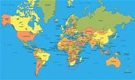 Printable World Map - Free Printable Maps