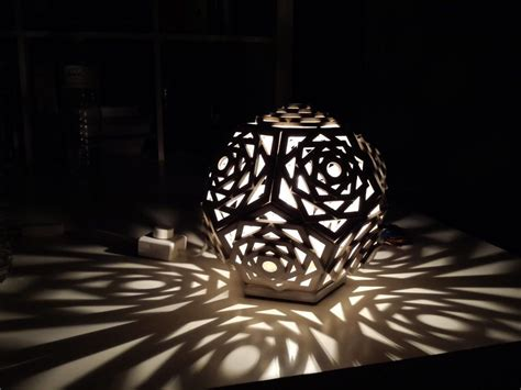 creative  eco friendly cardboard lamps