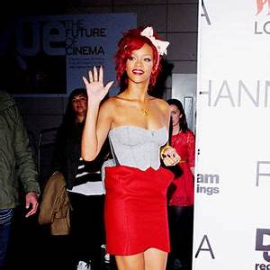 Rihanna Picture 201 - Rihanna Arrives The Westfield ...