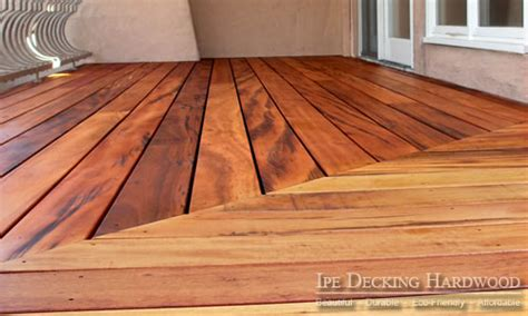 Tiger Wood Decking Nz by Decking Material Options
