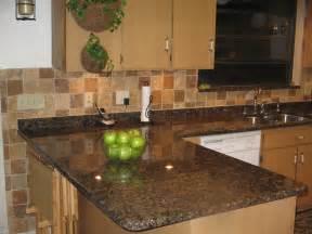 Kitchen Granite Backsplash The Granite Gurus Slab Sunday Baltic Brown Granite