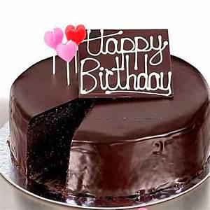 Happy Birthday Chocolate Cake Wishes | Share Pics Hub