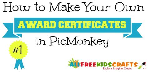 How To Make Your Own Award Certificates
