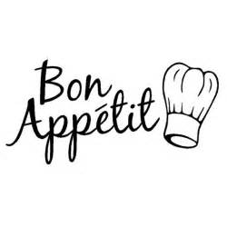 stickers cuisine phrase fashion characters words restaurant kitchen stickers bon
