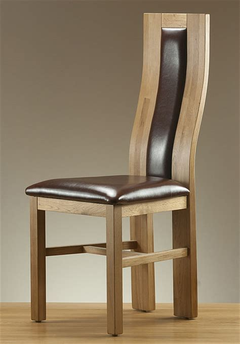 dining chairs leather fabric and oak dining chairs
