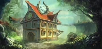 A Fantasy House By Mrainbowwj On Deviantart