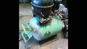 Membuat Kompresor Sendiri Dari Mesin Bekas Kulkas