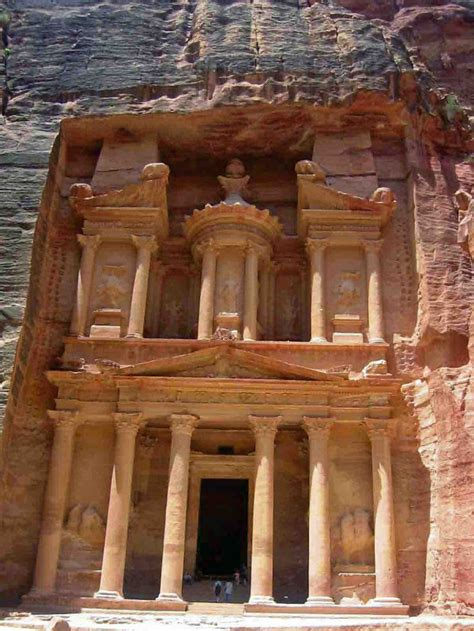 The Nabatean City Of Petra Country Jordan Well I Can