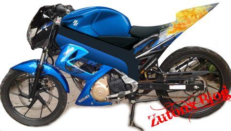 Modifikasi Motor Satria by Modifikasi Motor Suzuki Satria Fu 150