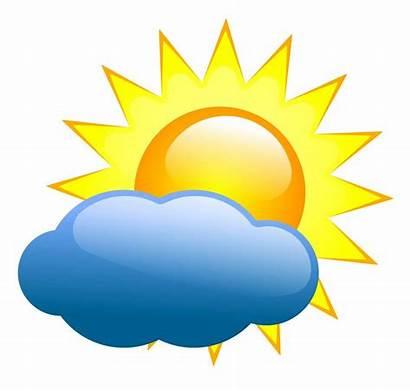 Sunny Weather Clipart Clip Night Vector Sun