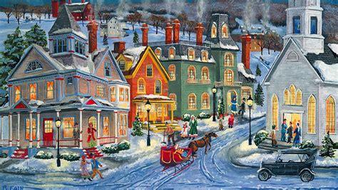 winter village art id  art abyss