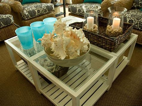 Or, even worse, someone setting something on it that's too heavy, like a cup of coffee, and it being obliterated. 35 Centerpiece Ideas for Coffee Table | Table Decorating Ideas