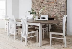 Dining Table and Chairs Dining Set Dark Pine & White with