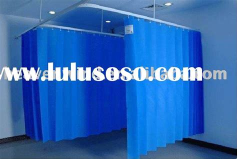 non woven with mesh hospital disposable curtain for sale