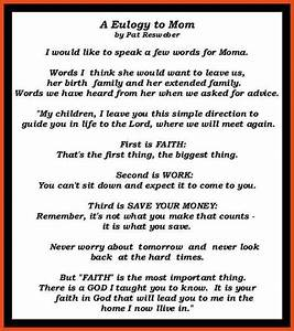 eulogy examples moa format With how to write a eulogy template