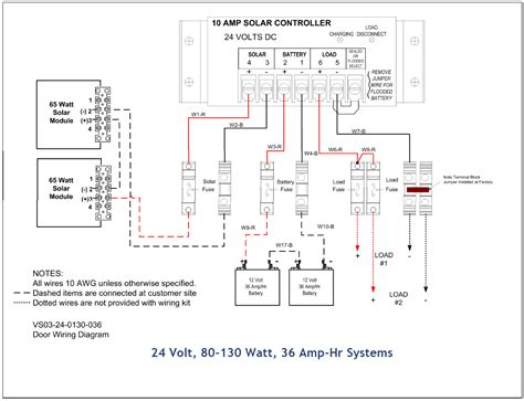 list of solar system wiring installation circuit
