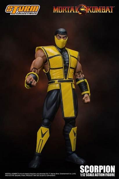 Scorpion Storm Collectibles Mortal Kombat Figure Figures