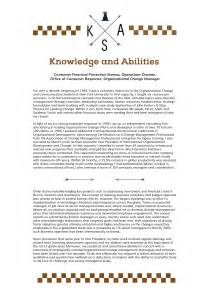 knowledge skills and abilities exle knowledge skills