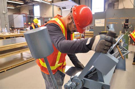 college of the north atlantic program sheet metal worker