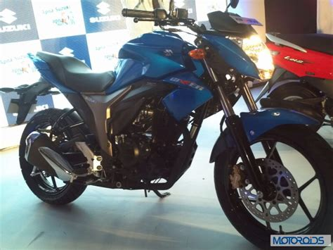 suzuki motorcycle 150cc suzuki gixxer 155cc motorcycle unveiled in india images