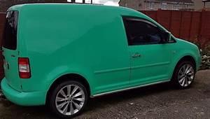 Volkswagen Caddy Van C20 Tdi Peppermint Green From Factory