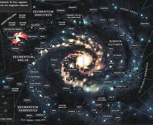warhammer galaxy map - Google Search   Space Opera ...