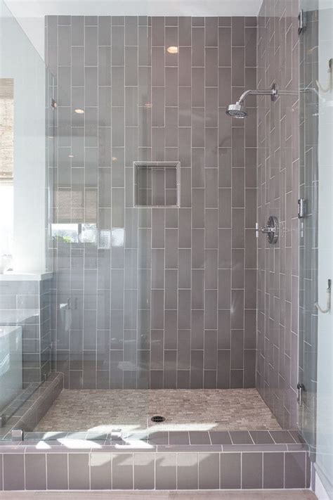 kitchen with brick backsplash best 25 vertical shower tile ideas on grey