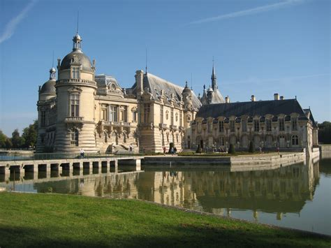 Of Chantilly ch 226 teau de chantilly castle in thousand wonders