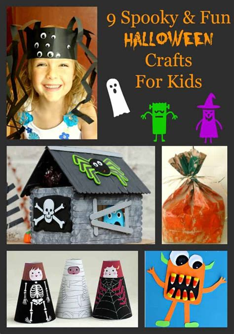 9 Spooky & Fun Halloween Crafts For Kids