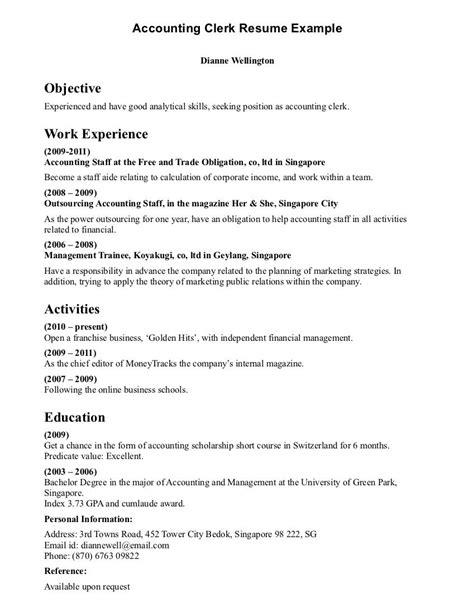 Account Manager Resume Sle by Pin Oleh Jobresume Di Resume Career Termplate Free
