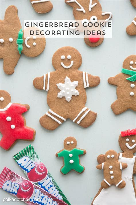 Decorating Ideas For Gingerbread by Gingerbread Cookie Decorating Ideas The Polka Dot Chair