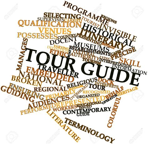 tour bureau itinerary guide