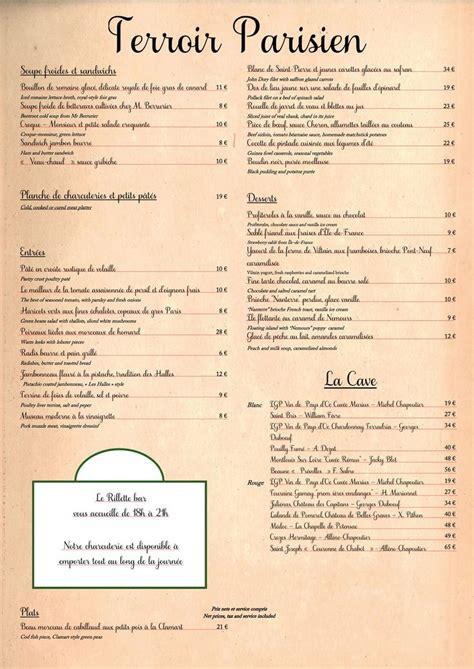 cuisine style bistrot parisien bistrot terroir parisien de yannick alléno june 2014