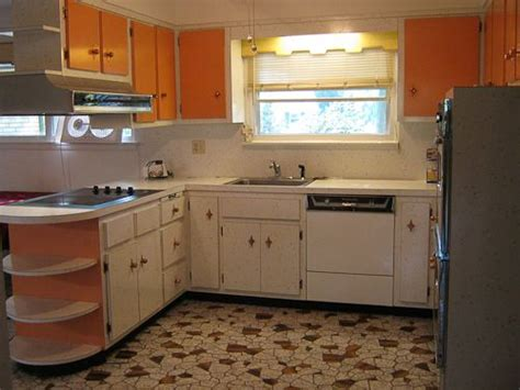 island kitchen images orange kitchens and island on 1960