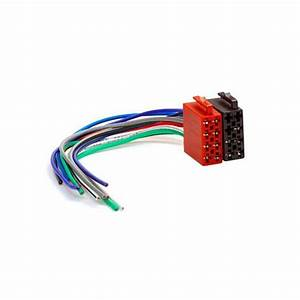 Universal Male Iso Wiring Harness Car Stereo Connector