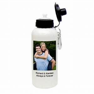 design your own photo aluminum water bottle With design your own water bottle