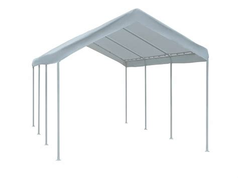 feet outdoor car canopy carport garage tent large  white cover ebay