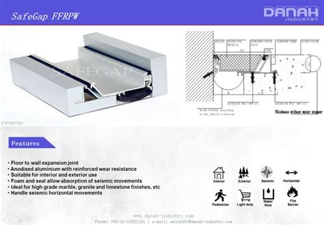 seismic separation joint expansion joint  expanse